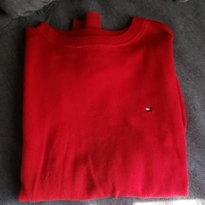 Mens size Med red crewneck sweater